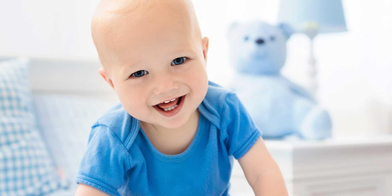 Dientes de bebé: erupción dental de los bebés